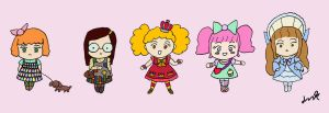Lolita Fashion Brands- Sweet and Otome by RainbowFishy-chan