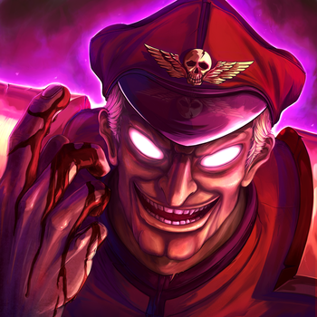 M. Bison Insanity by ExCharny