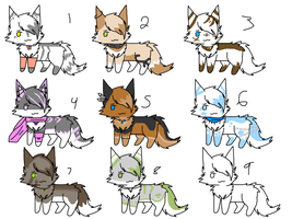 More Kitty adopts by Icey-adopts