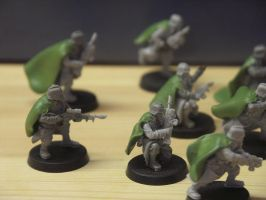 Sculpting Death korps of Krieg by craats