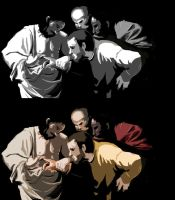 Doubting Thomas study by PeopleEveryday