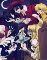 Phantomhive and Hellsing - Tea by happyzuko