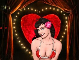 betty page by Dennis80