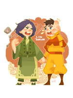 Lin and Tenzin: Childhood by freestarisis