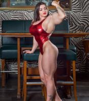 Jessica Sestrem Perfect Female Muscle Morph by Turbo99