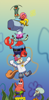 SpongeBob Stack by chesney