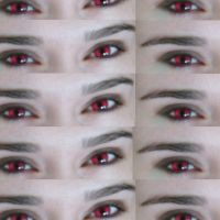 my red eyes :D by venus10101