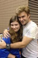 Me and Vic Mignogna! by mangafan23