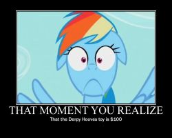 That Moment You Realize Demotivational Poster by DrakkenlovesShego12