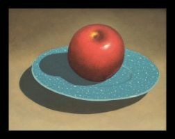 Still Life With Apple by Tektonten