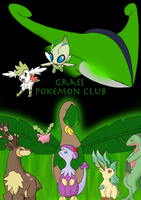 Grass Pokemon Club ID Poster (For contest) by Suicunesrider