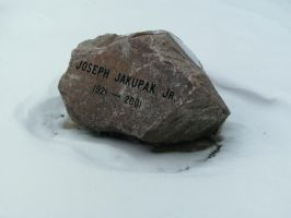 Rock Headstone by Rubyfire14-Stock