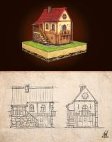 Country house by krolone