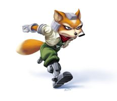 SSBM Fox McCloud by danimation2001