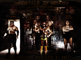 Immortals In Memory - WWE/F Legends by thetrans4med