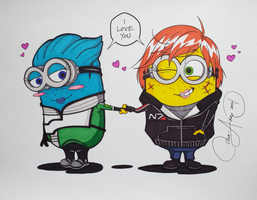 Paramour Minions by Ma-Anime