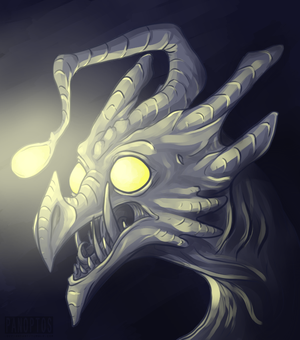A face in the abyss by Panoptos