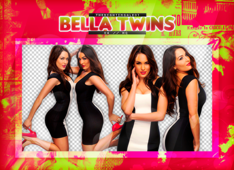 The Bella Twins - Pack Png #63 by TheNightingale01