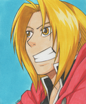 Art Trade - Edward Elric by LimboTheLost