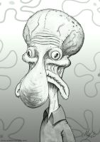 SQUIDWARD by AustenMengler