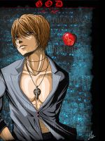 Yagami Light Poster by cassiesillustrations