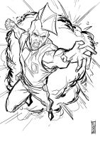 The Savage Dragon by Supajoe