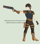 The Kid With the Gun by AlchemistMayCry