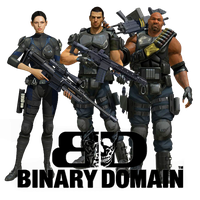 Binary Domain Icon by Ni8crawler