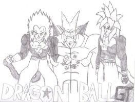 dragonball GT by Eddie-Nash