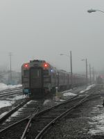 foggy afternoon at the station by wroquephotography