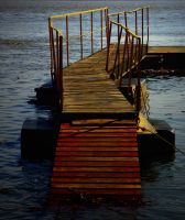 Sunset Dock by boron