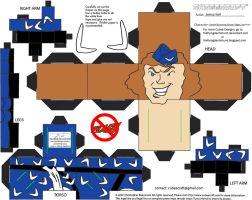 Vil 6: Captain Boomerang Cubee by TheFlyingDachshund