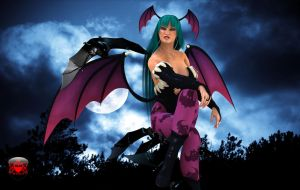 Morrigan Aensland 7 by TheRedCrown