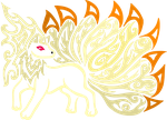 Pokeswap Tribalish Ninetails by vaguelygenius