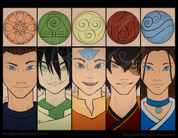 The Five Elements by Akogare