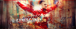 Wayne Rooney - Manchester United FC by TiaSevenGFX