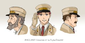 BACCANO characters part 4 by NicoleCover