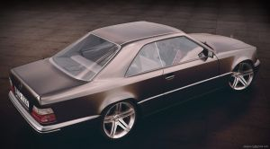 Mercedes-Benz W124 Coupe by sergoc58