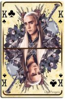 King Thranduil by OlgaVPirogova