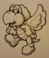 Winged Koopa by wingedwolf94