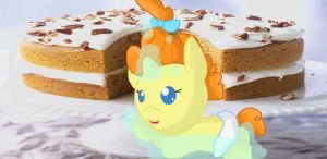 pumpkin cake by angelstar000