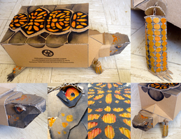 Cardboard Box Turtle by allistella