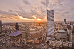 Warsaw skyscrapers February 2016 - 8 by mysterious-one