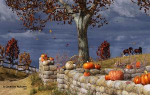 A Country Autumn by Dani3D