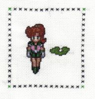 Sailor Jupiter Cross Stitch by JealaTriumph