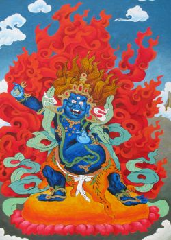 Vajrapani by applecorekevin