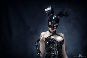 Latex Bunny by AbsinthiaStacy