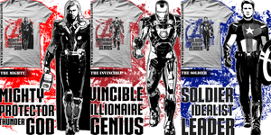 The Mighty / The Invincible / The Soldier by Pichins