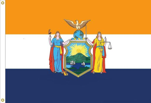 New York State Flag proposal by StephenBarlow