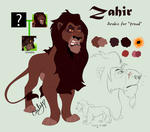 Zahir Character Contest by Carlene707